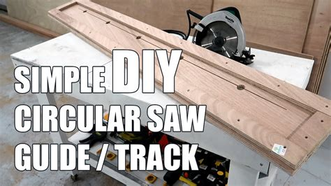 How To Make A Circular Saw Guide For Plywood