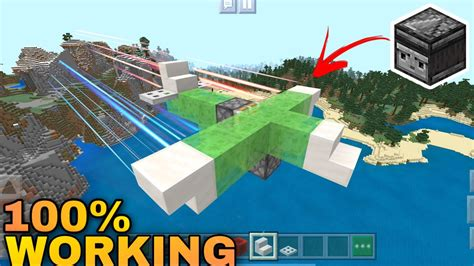 How To Make A Command Block Plane In Minecraft