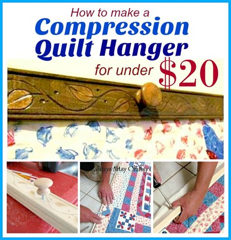 How To Make A Compression Quilt Hanger