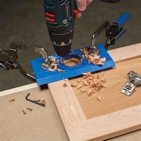 How To Make A Concealed Hinge Jig