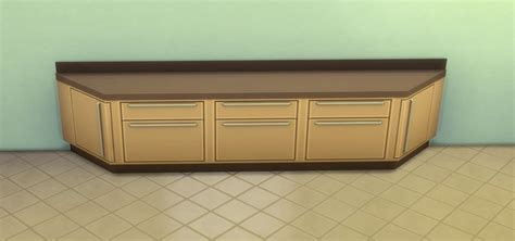 How To Make A Corner Cabinet On Sims 4