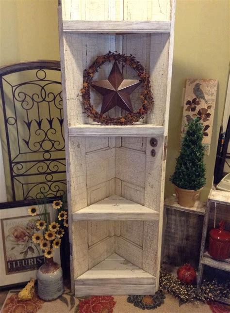 How To Make A Corner Cabinet With Old Doors