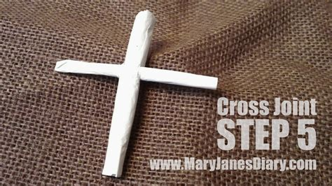 How To Make A Cross Joint Step By Step