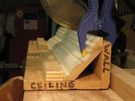 How To Make A Crown Molding Jig
