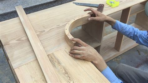 How To Make A Curved Wood Cabinet