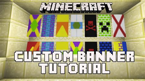 How To Make A Custom Banner In Minecraft