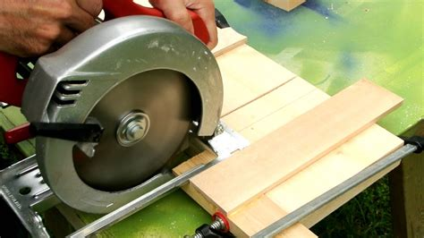 How To Make A Dado Cut With A Circular Saw