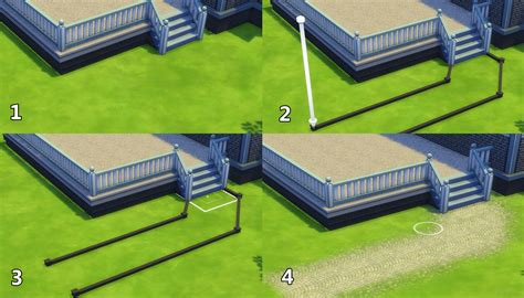 How To Make A Deck On Sims 4