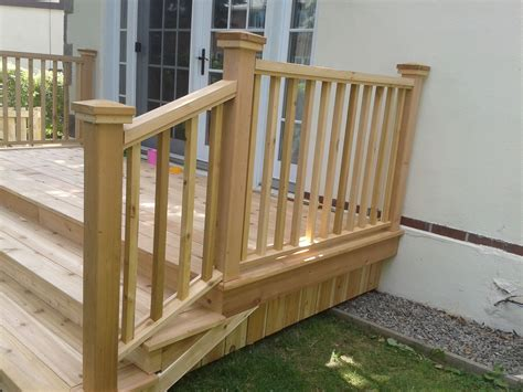 How To Make A Deck Railing