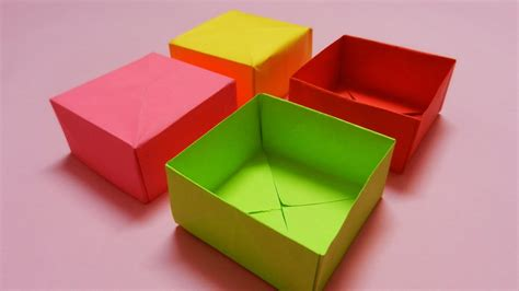 How To Make A Decorative Box Out Of Paper