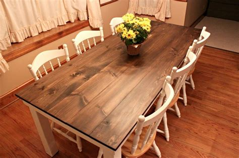 How To Make A Dining Room Table Plans