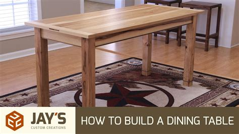 How To Make A Dining Table Frame