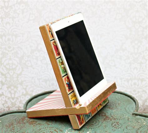 How To Make A Diy Ipad Stand