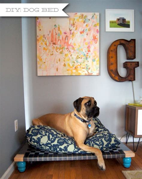 How To Make A Diy Large Dog Bed
