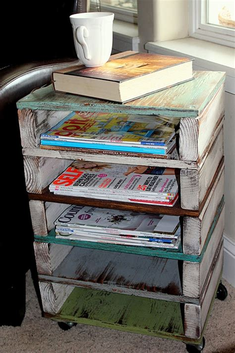 How To Make A Diy Magazine Rack