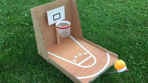 How To Make A Diy Mini Basketball Hoop