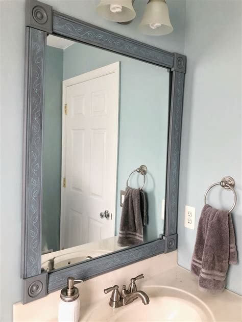 How To Make A Diy Mirror Frame With Moulding