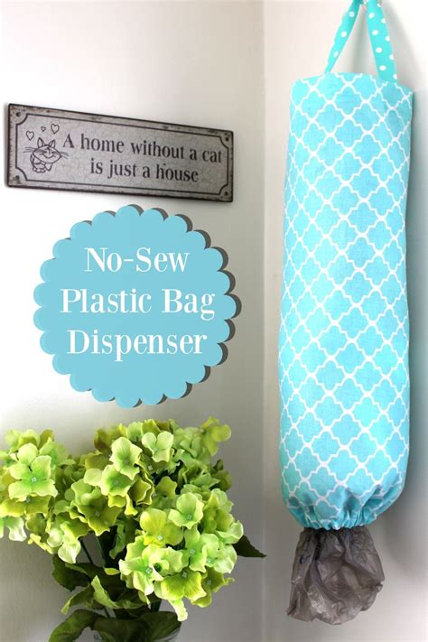 How To Make A Diy Plastic Bag Dispenser