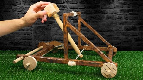 How To Make A Diy Wood Catapult
