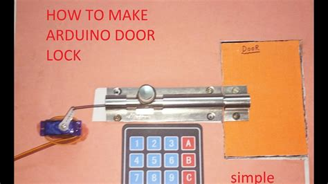 How To Make A Door Lock