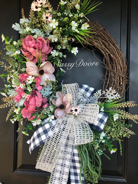 How To Make A Door Wreath
