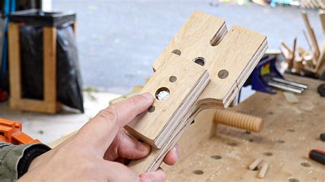 How To Make A Dowel Jig
