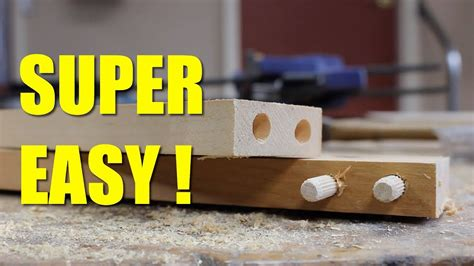 How To Make A Dowel Jig In 5 Minutes Youtube