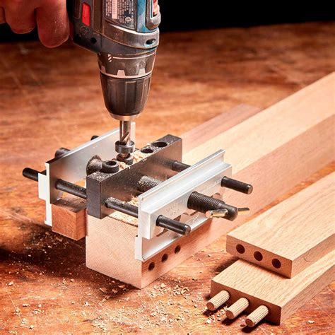How To Make A Dowel Joint With A Jig