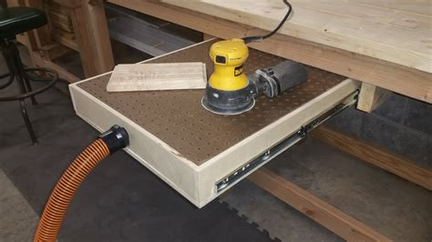 How To Make A Downdraft Sanding Table Using Large
