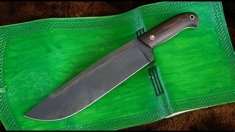 How To Make A Draw Knife Out Of A Leaf Spring