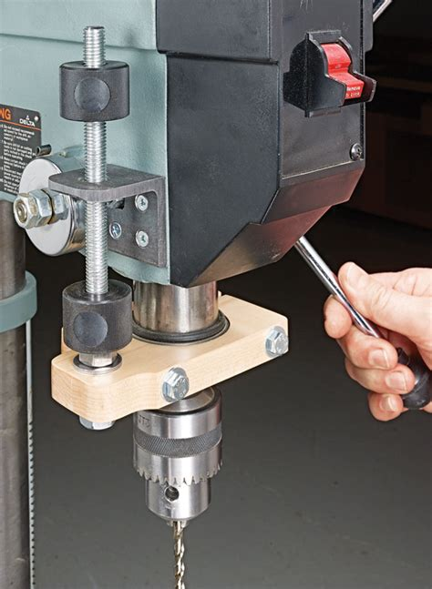 How To Make A Drill Press Depth Stop