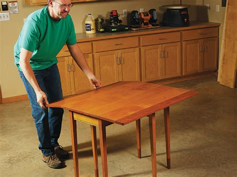 How To Make A Drop Leaf Table Videos