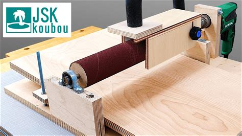 How To Make A Drum Sander On Youtube
