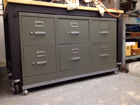 How To Make A File Cabinet Into A Tool Box