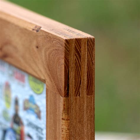 How To Make A Finger Joint Picture Frame