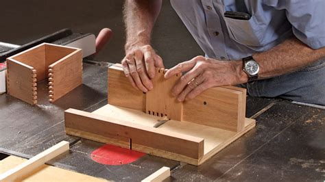 How To Make A Finger Joint Sled