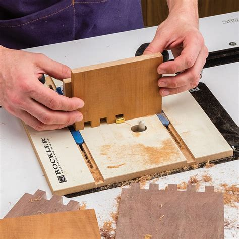 How To Make A Finger Joint With Router Table
