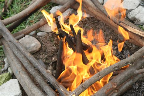 How To Make A Fire In The Woods With Nothing