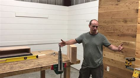 How To Make A Fireplace Mantel Youtube Music