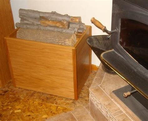 How To Make A Firewood Box Plans