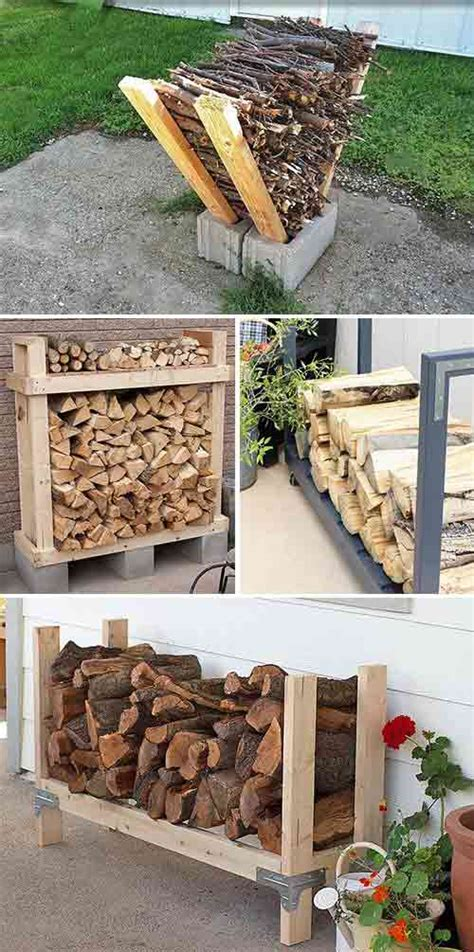 How To Make A Firewood Storage Rack