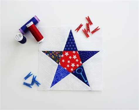 How To Make A Five Pointed Star Quilt Block