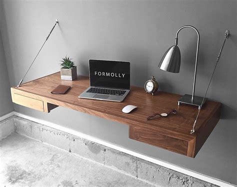 How To Make A Floating Desk With Drawers