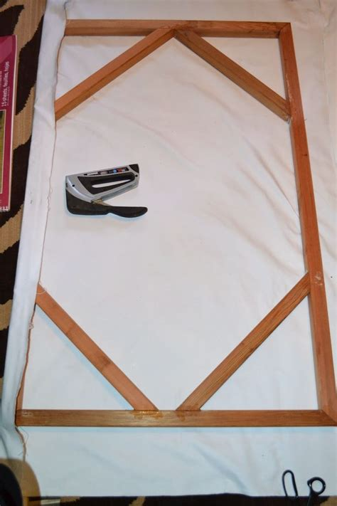 How To Make A Frame For A Canvas