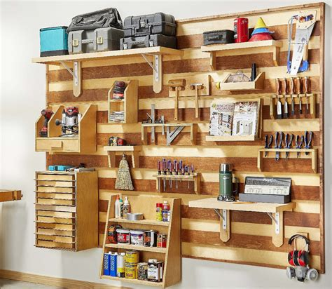 How To Make A French Cleat Tool Wall