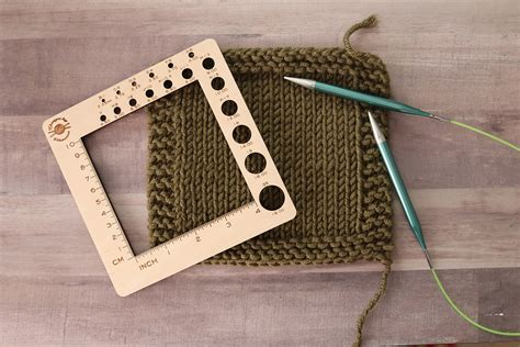 How To Make A Gauge Swatch In Knitting