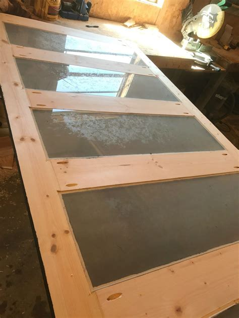 How To Make A Glass Door
