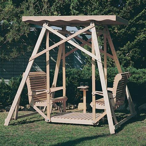 How To Make A Glider Swing For A Swing Set