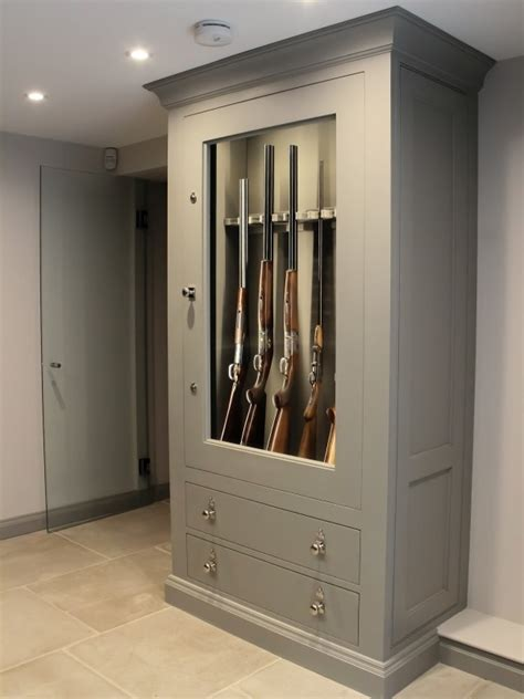 How To Make A Gun Cabinet More Secure