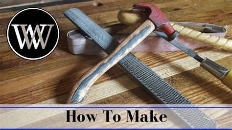 How To Make A Hammer Handle By Hand